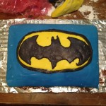 Batman cake from scratch!