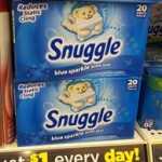 Snuggle Fabric Softner .50C Per Box- Stock Up Price