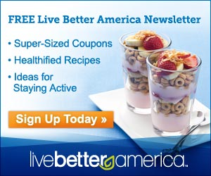 FREE newsletter for coupon savings up to $250 per year,