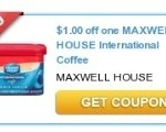 Target: Great Deal On Maxwell House International Coffee This Week!