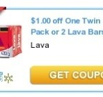 $1/1 Lava Bar Soap Coupon + Walmart Match-Up!