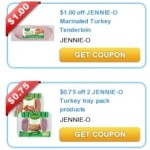 Four New Jennie-O Turkey Product Coupons + Walmart Match-Ups!