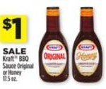 $1/2 Kraft BBQ Sauce Coupon Dollar General just $0.50 each CVS 6/30