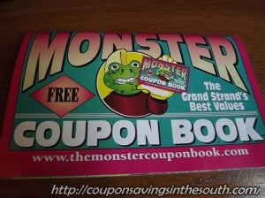 Monster coupon Book