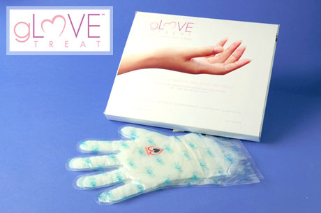 From $19: At-home paraffin wax treatment for hands or feet from gLOVE Treat
