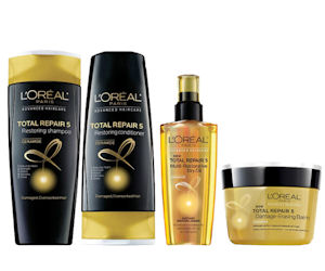 Order Your Choice of Free Loreal Advanced Haircare Samples