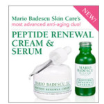 Free Mario Badescu Peptide Renewal Serum & Cream Samples
