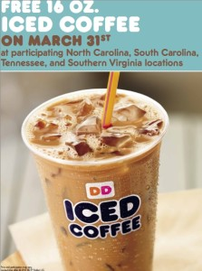 Carolina Free Iced Coffee Day