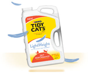Tidy Cats Lightweight Cat Litter - Free with Refund
