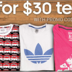 adidas 2 Graphic & Ultimate Tees for $30