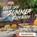 "Let Kraft help you plan the perfect celebration with the ""Kick Off Your Summer"" cookbook! #CookingUpSummer"